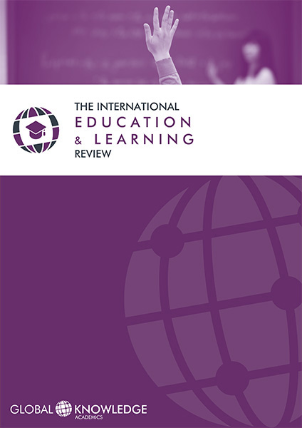 Cubierta de la The International Education and Learning Review