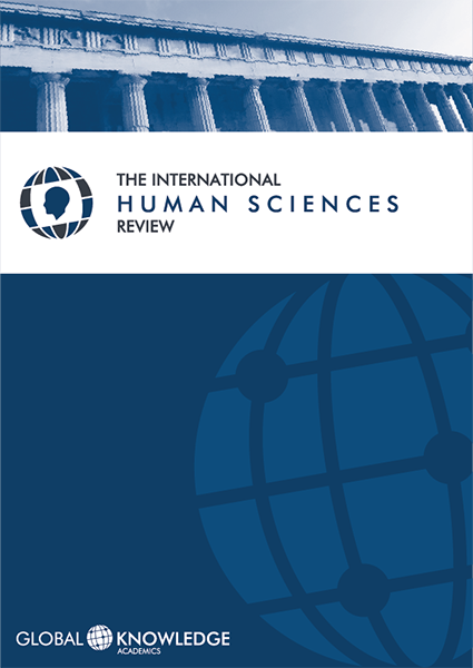 Cubierta de la The International Human Sciences Review